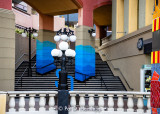 Mall stairs
