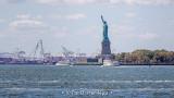 Liberty in harbor