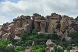 Hampi rock forms -  India-1-9471