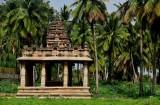 Temple at Hampi - India-1-9484