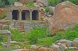 Temple at Hampi - India-1-9493