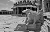 Vittala Temple complex - India-1-9617bw