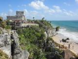 Looking towards El Castillo