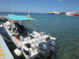 Our dive/snorkel boat
