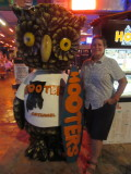 Can't believe we went to Hooters!