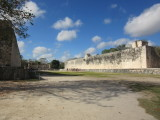 Great ball court - largest  in Mexico