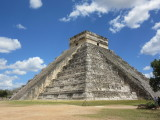 Nine levels divided in two, making 18 terraces that make the 18 20-day months of the Maya Vague year