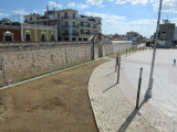 Looking towards the Sea Gate - reclaimed land in front of the gate, means the sea is a couple of blocks away