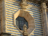 Covered with blue and yellow tiles - built early 1700s