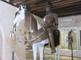 Inside the baluarte - a small museum with pirate stuff