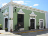 Salon Rincon Colonial - bar used in the movie Original Sin - we had a couple of beers here