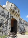 The primary defense for the Puerta de la Tierra (Land Gate)