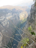 We head to 3 miradores, to see the canyon from above