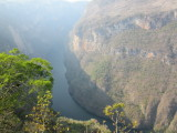 This Mirador is at a bend in the river - here's looking in the other direction