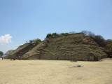 Plataforma Sur - the tallest in Monte Alban at 40m high
