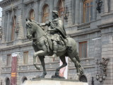 Bronze statue of the Spanish King Carlos IV