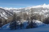 Raquettes et neige dans le Queyras