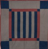126: Bars-Lancaster, PA c. 1920 76x74 wool