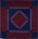 129: Center Diamond-Lancaster, PA c. 1930 83x80 wool