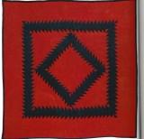 131:Sawtooth Diamond, Lancaster PA c.1915, 77x79