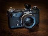 Kiev 4AM, Jupiter 12 35mm f2.8 (1984)
