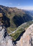 View from Roc de la Vache 2581 m