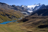 View direction Moiry Glacier