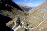 Road to Moiry dam