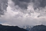 Storm clouds approaching Verbier