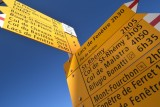 Hiking options at Cold du Grand-Saint-Bernard