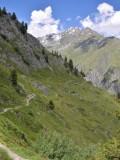 Trail to Cabane Brunet