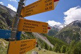 Mid-way between Grächen and Zermatt