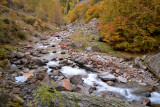 Verzasca river in Valle Vergoness
