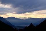 Last sun above Locarno