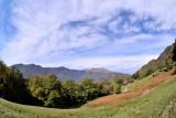 Fisheye view on Sciss di Fuori, Biggorio