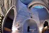 Mario Botta church in Mogno