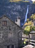 Foroglio's waterfall