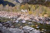 Verzasca river near Sonogno