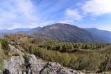 View from Monte Biogorio on Monte Bar