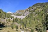 Lago del Sambuco's dam