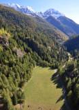View from Lago del Sambuco's dam