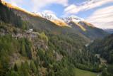 Val Lavizzara view from Lago del Sambuco
