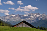 August in the Alps
