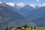View on Val d'Anniviers