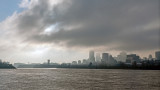 Montreal under a November sky