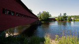 Covered bridges in Ferme-Rouge