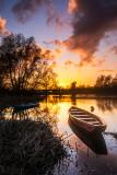 Black Bridge - Spring Sunset