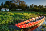 Annaghbeg - Red Boat - Evening Light
