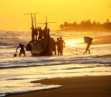 Fishermen Returning