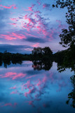 Pink Clouds at Night